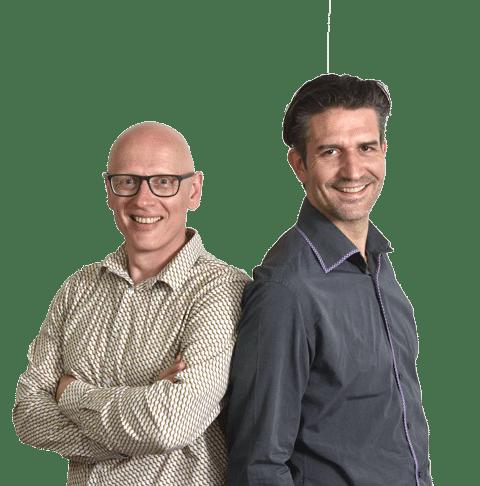 Bob Zeegers en Marco de Zeeuw