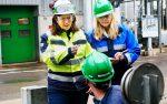 Nicole Kroon op inspectie