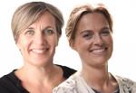 Cecile de Roos en Pauline Miedema