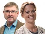 Rolf Weijers en Pauline Miedema