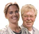 Vincent Vrooland en Pauline Miedema