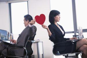 liefde op het werk