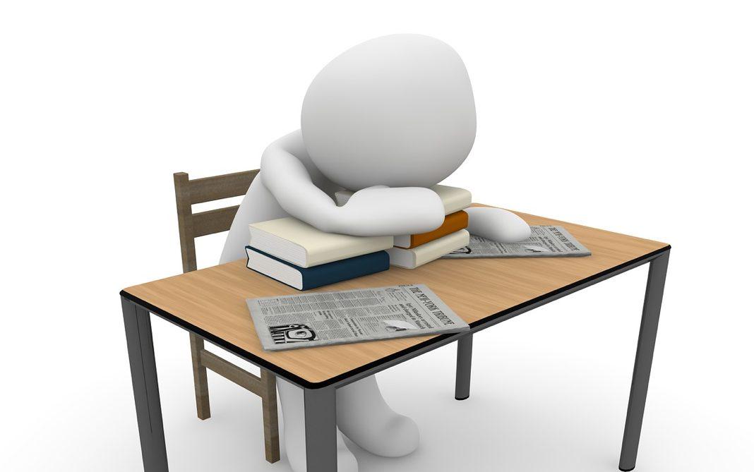 slaapproblemen en werk