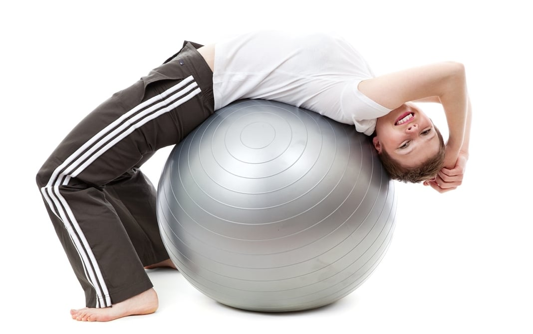 sporten op het werk